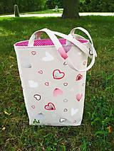 Veľké tašky - Taška SRDCOVKA:-) - 10952160_