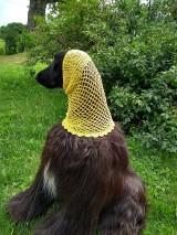 Pre zvieratká - Háčkovaná šatka - 10951070_