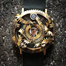 Náramky - Steampunk hodinky A 15 - 10951587_