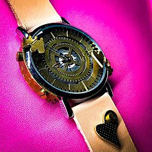 Náramky - Steampunk hodinky A 25 - 10951722_