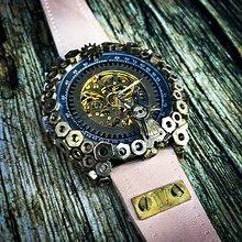 Náramky - Steampunk hodinky D 07 - 10952053_