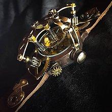 Náramky - Steampunk hodinky E 05 TAL - 10952086_