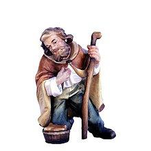 Socha - Kľačiaci Pastier - 10950683_