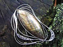 Odznaky/Brošne - Brošňa Labradorit - 10950929_