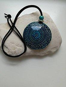 Iné šperky - Keramický prívesok - 10951885_