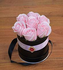 Dekorácie - BRILLIANT FLOWER BOX (Ružová) - 10952021_