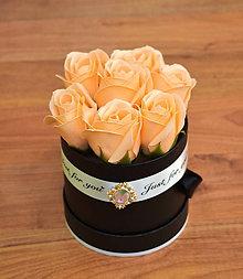 Dekorácie - BRILLIANT FLOWER BOX (Marhuľová) - 10952033_