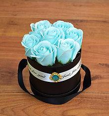 Dekorácie - BRILLIANT FLOWER BOX (Svetlomodrá) - 10952035_