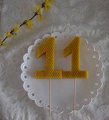 Svietidlá a sviečky - Sviečka na tortu - 10950709_