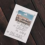 Grafika - Print / The world is too big - 10953491_