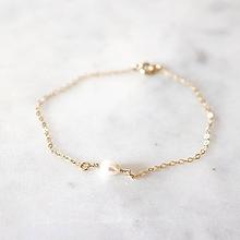 Náramky - Náramok s riečnou perlou (gold filled) - 10951796_
