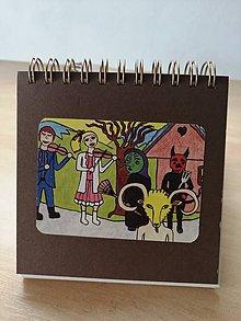 Papiernictvo - Zápisník, poznámkový blok, fašiangy - 10952928_