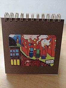 Papiernictvo - Zápisník, poznámkový blok, Rúžomberok - 10952938_