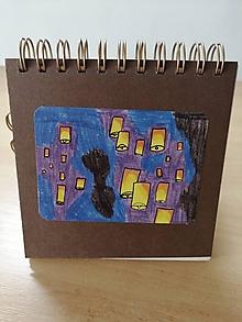 Papiernictvo - Zápisník, poznámkový blok, lampióny šťastia - 10952988_