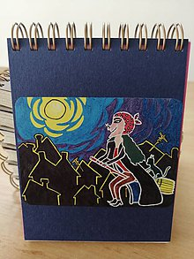 Papiernictvo - Zápisník, poznámkový blok, Slečna ježibaba - 10953204_