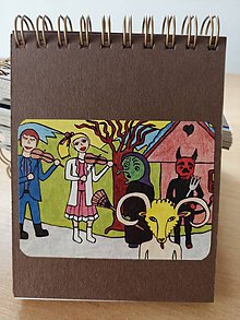 Papiernictvo - Zápisník, poznámkový blok, fašiangy - 10953246_
