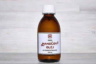 Drogéria - Mandľový olej 100% LZS: 200 ml - 10950699_