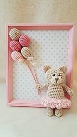 Detské doplnky - S ružovými balónmi - 10953361_