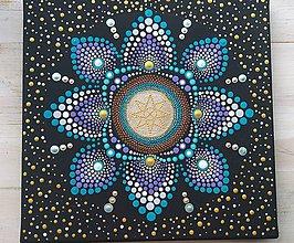 Obrázky - Bodkovaná mandala DANAS-hviezda duše PREDANá - 10955911_