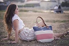 Veľké tašky - Taška Melody Stripes - 10954076_