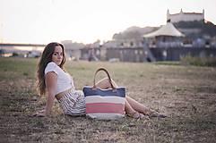 Veľké tašky - Taška Melody Stripes - 10954077_