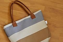 Veľké tašky - Taška Melody Stripes - 10954086_