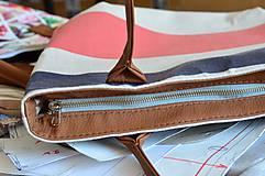 Veľké tašky - Taška Melody Stripes - 10954087_