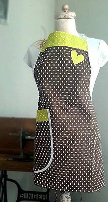 Iné oblečenie - Dámska zástera - 10955843_