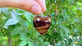 Iné šperky - Prívesok z tigrieho oka - 10955223_