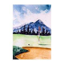 Obrazy - Na golfe v Tatrách - 10954694_