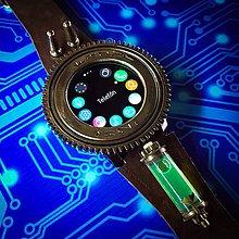 Náramky - Steampunk hodinky H 02 FRONT - 10956623_