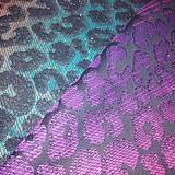 Textil - Yaro Pussycat Duo Black Carnival Rainbow Glam - 10954870_
