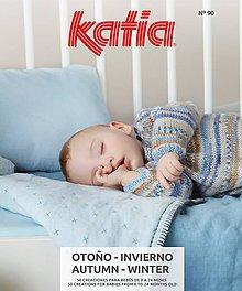 Návody a literatúra - Časopis KATIA BABY 90 - 10953990_