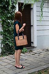 Kabelky - Prútená kabelka do ruky N°2 - 10956024_