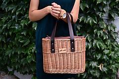 Kabelky - Prútená kabelka do ruky N°2 - 10956036_
