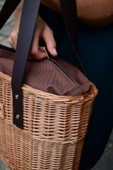 Kabelky - Prútená kabelka do ruky N°2 - 10956055_