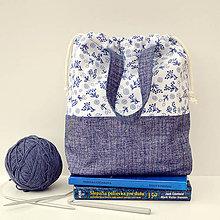 Iné tašky - Denimová taška ~ tvoritaška + nákupná - 10955096_
