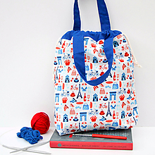 Iné tašky - Tvoritaška z Francúzska ~ projektová taška - 10955121_