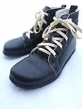 Obuv - Zateplene barefoot topanky - 10954309_