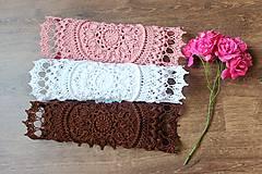 Úžitkový textil - Háčkovaná dečka Ciri - 10954788_