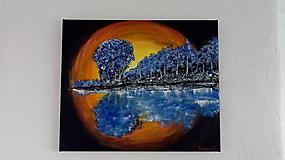 Obrazy - Les fantázie nad jazerom - 10955390_