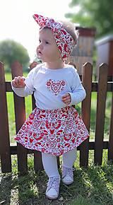Detské oblečenie - Suknička - 10954650_