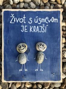 Obrazy - Kamienkáč S úsmevom - 10956549_
