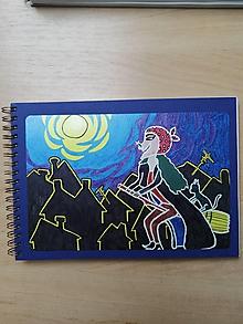Papiernictvo - Zošit, notes A5, Slečna ježibaba - 10954600_