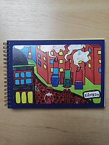 Papiernictvo - Zošit, notes A5, Rúžomberok - 10954632_