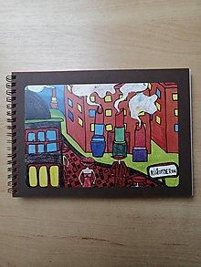 Papiernictvo - Zošit, notes A5, Rúžomberok - 10955079_