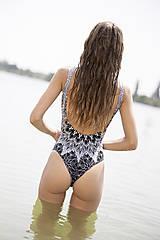Bielizeň/Plavky - Aida met Adina jednodielne plavky - 10955021_