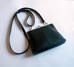 Kabelky - malá čierna - 10955598_