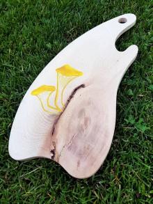 Pomôcky - Drevené lopáre s hubami (KURIATKA) - 10956537_