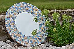 """Zrkadlá - Mozaikové zrkadlo """" MORE SLNKO PIESOK """" - 10959254_"""